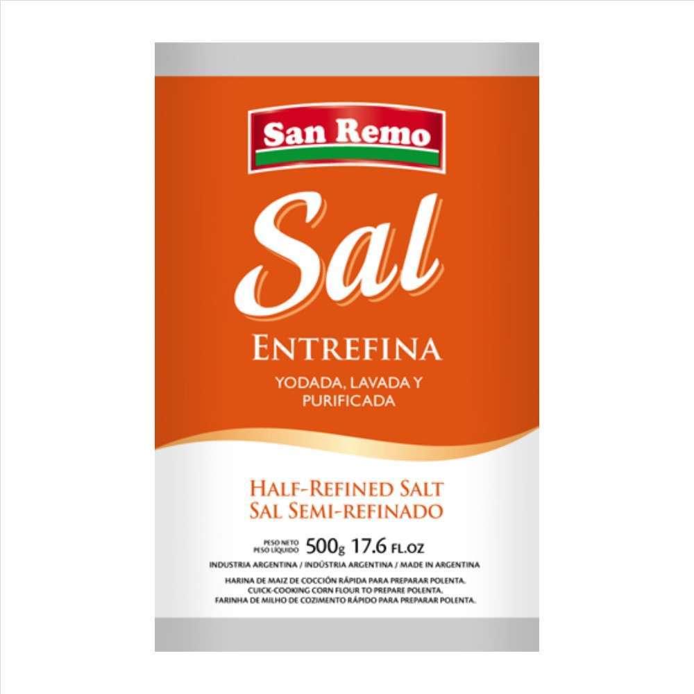 Sal San Remo Entrefina 1Kg