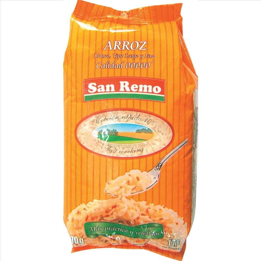 Arroz San Remo Largo Fino 00000 1 Kg