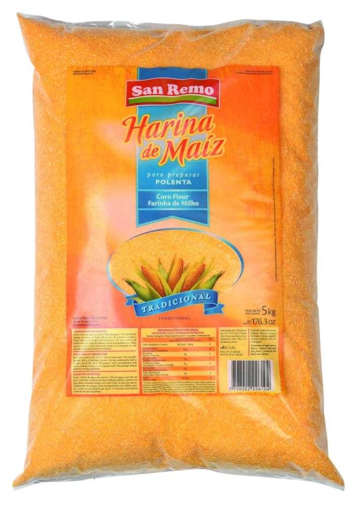 Harina de Maiz San Remo 5Kg