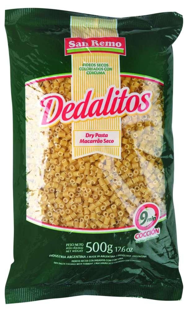 Fideos San Remo Sem.Dedalito 500G Image