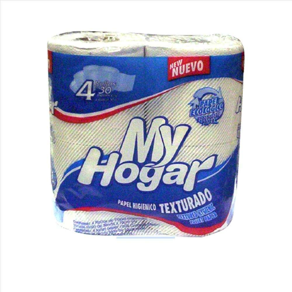 Papel Higiénico My Hogar Text.4Rolx30M (Pc)