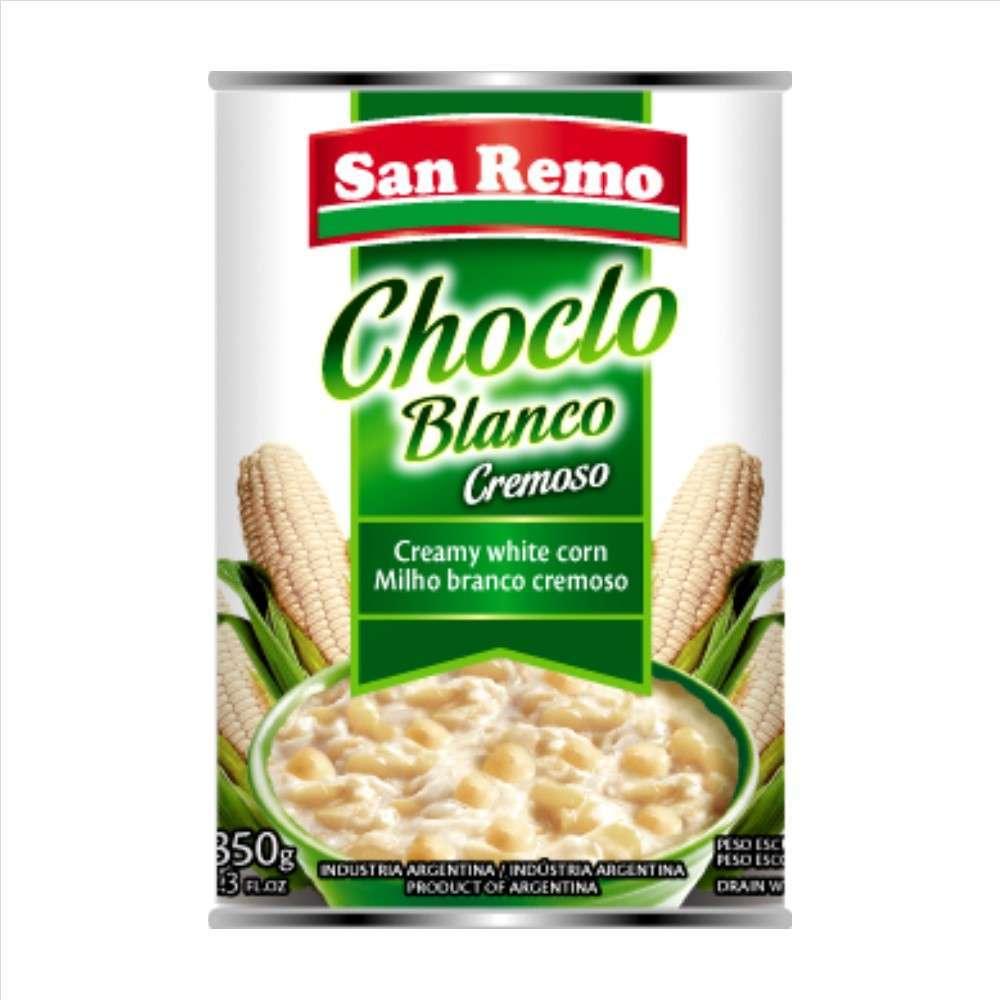 Choclo San Remo Blanco Cremoso 350G