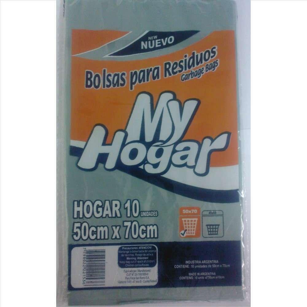 Bolsas de Residuos My Hogar 50X70 10un