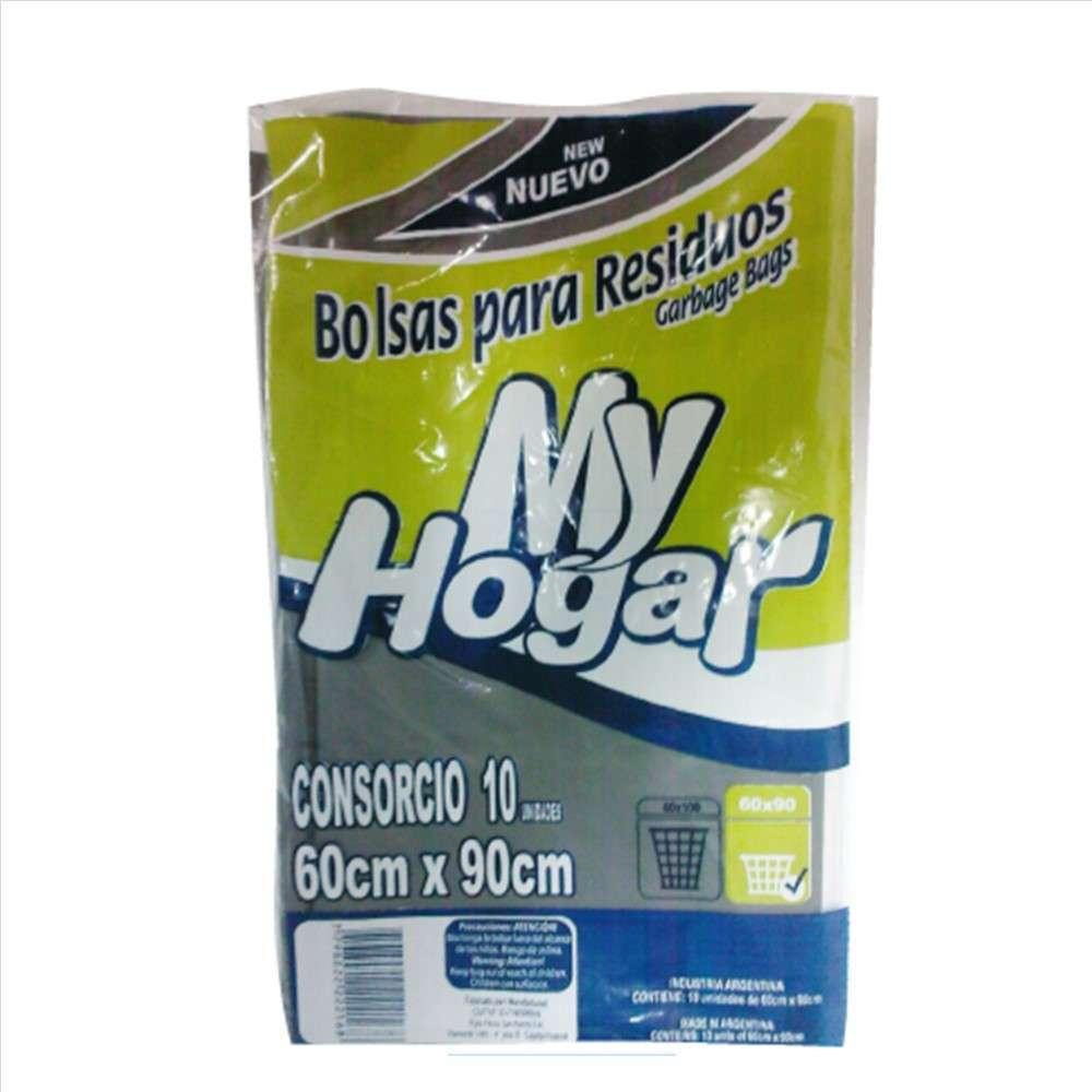 Bolsas de Residuos My Hogar 45X60 10un