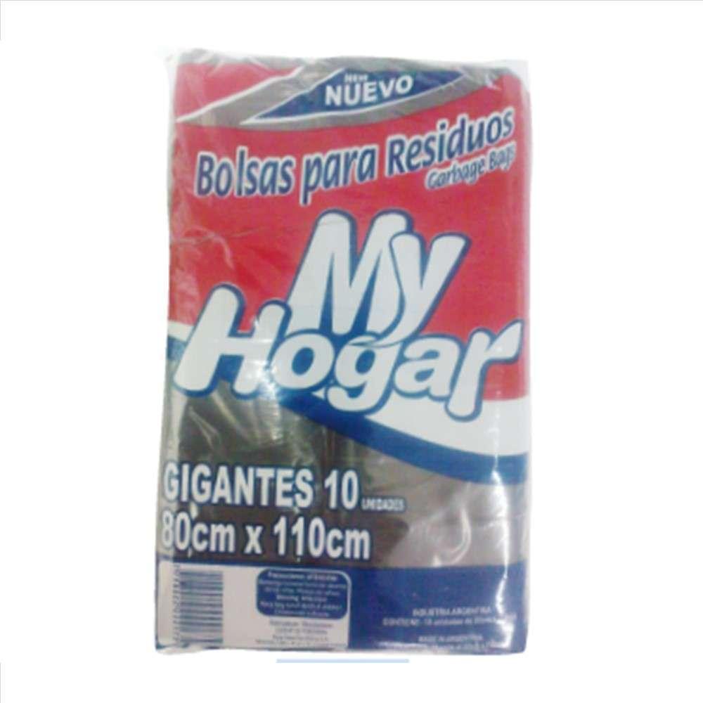 Bolsas de Consorcio My Hogar Gigante 80X110 10un