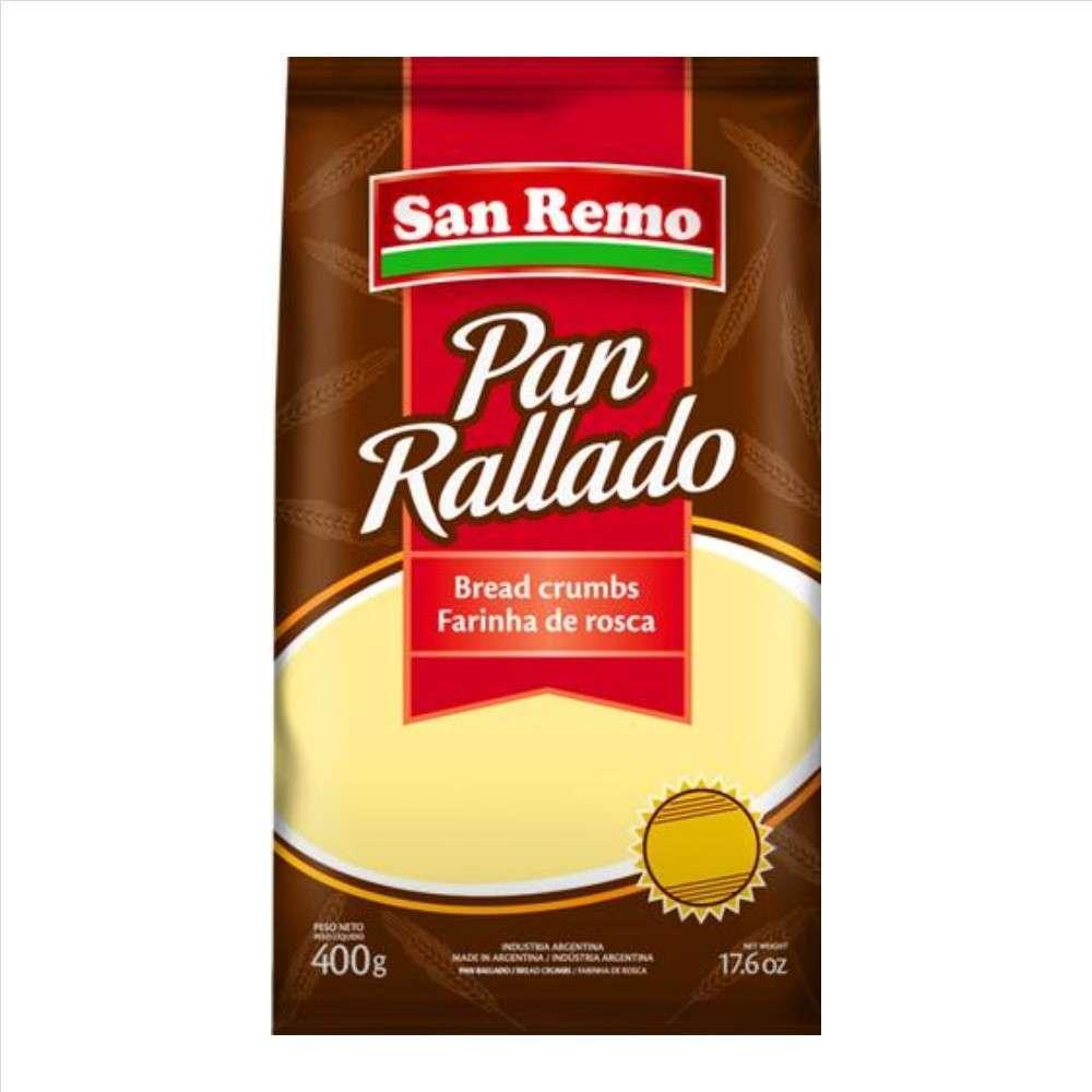 Pan Rallado San Remo 400G