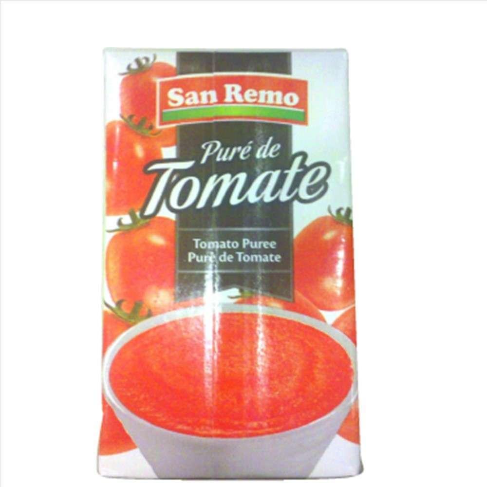 Puré de Tomate San Remo 260G Brik