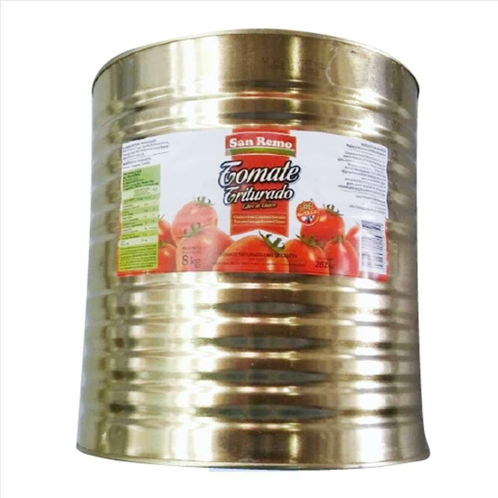 Tomate Triturado San Remo 8Kg Lata