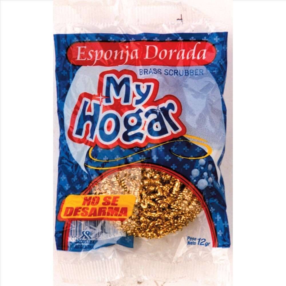 Esponja My Hogar Bronce 1un