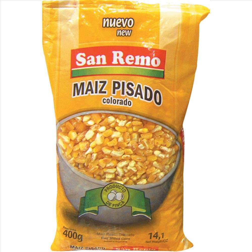 Maiz Pisado San Remo Col.400G