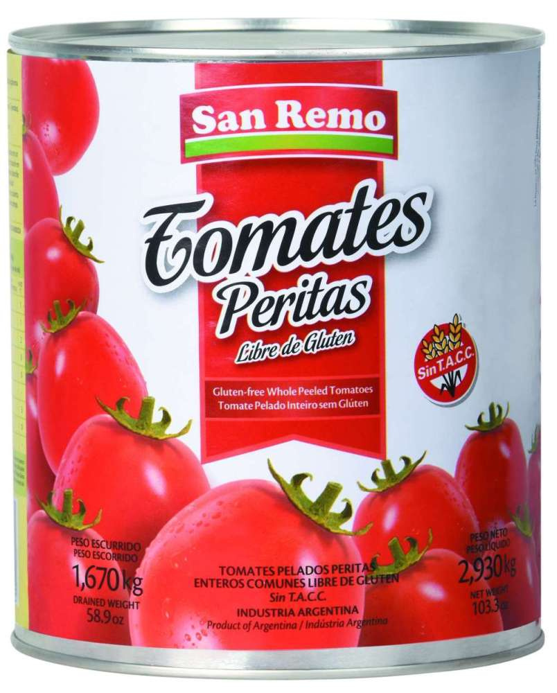 Tomate San Remo Perita 3Kg
