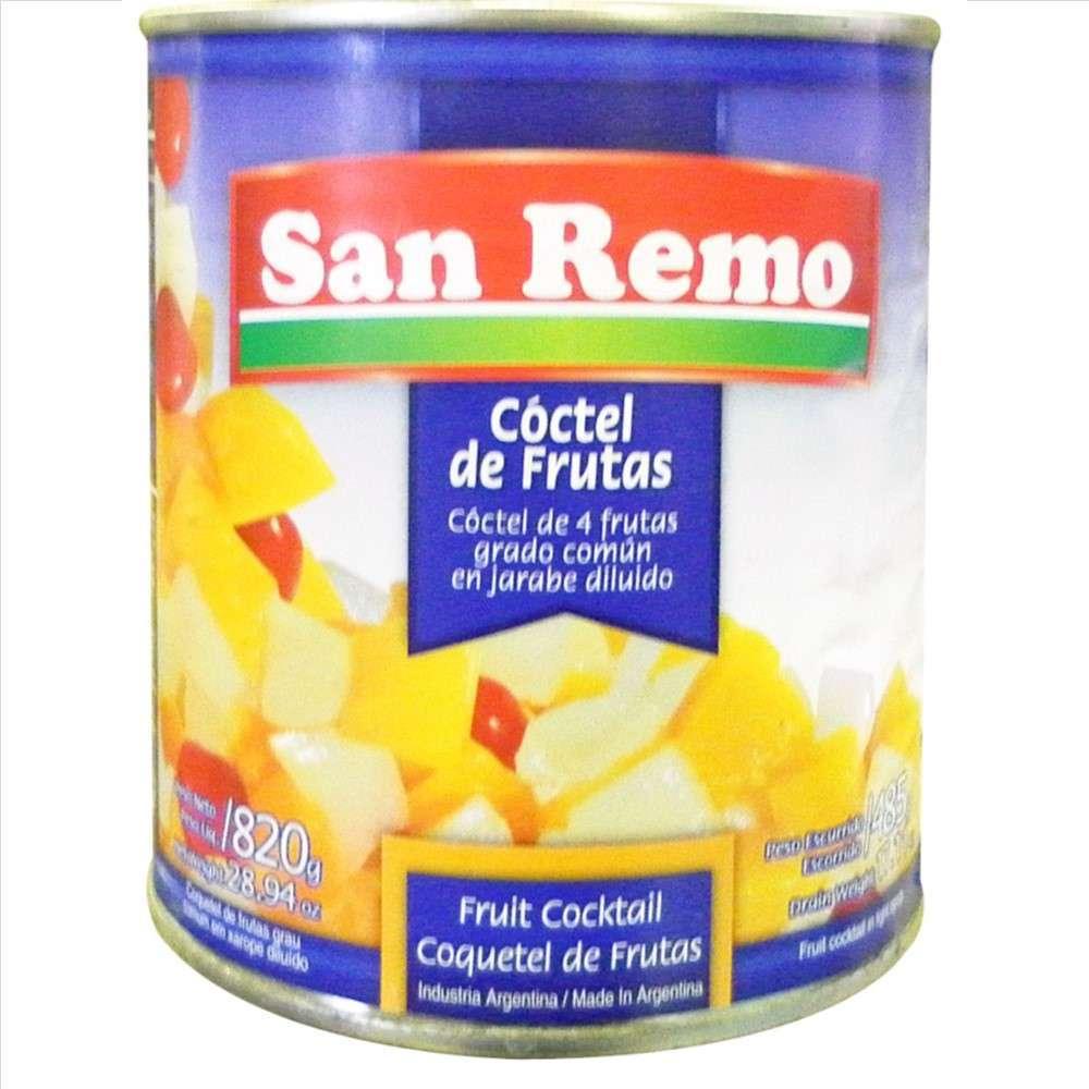 Cóctel de Fruta San Remo 820G