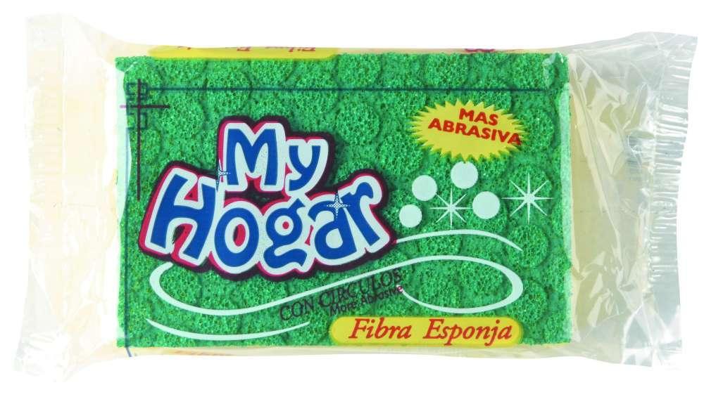 Esponja My Hogar Fibra Cuadriculada