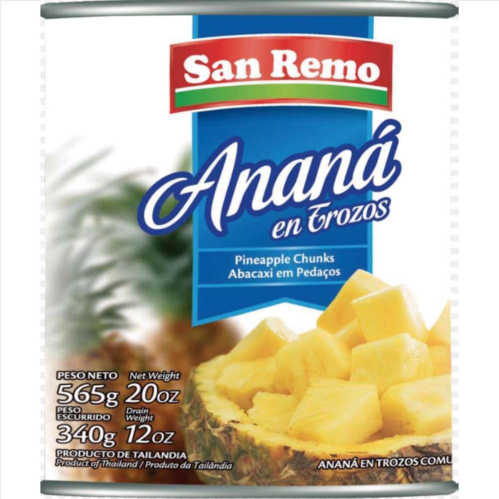 Ananá San Remo Trozos 565G