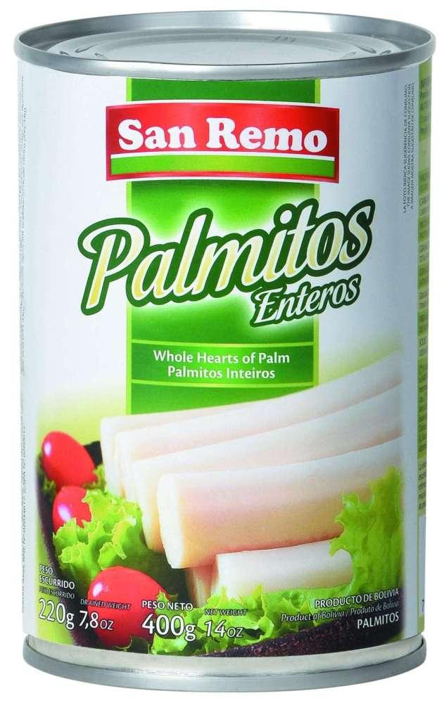 Palmitos San Remo Ent.400G