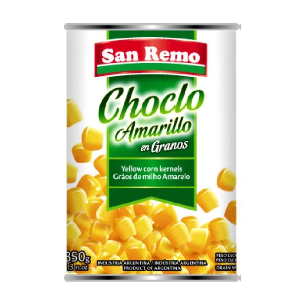 Choclo San Remo Amarillo Granos 300G