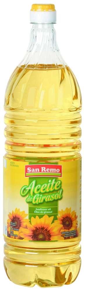 Aceite San Remo Girasol 1.5L