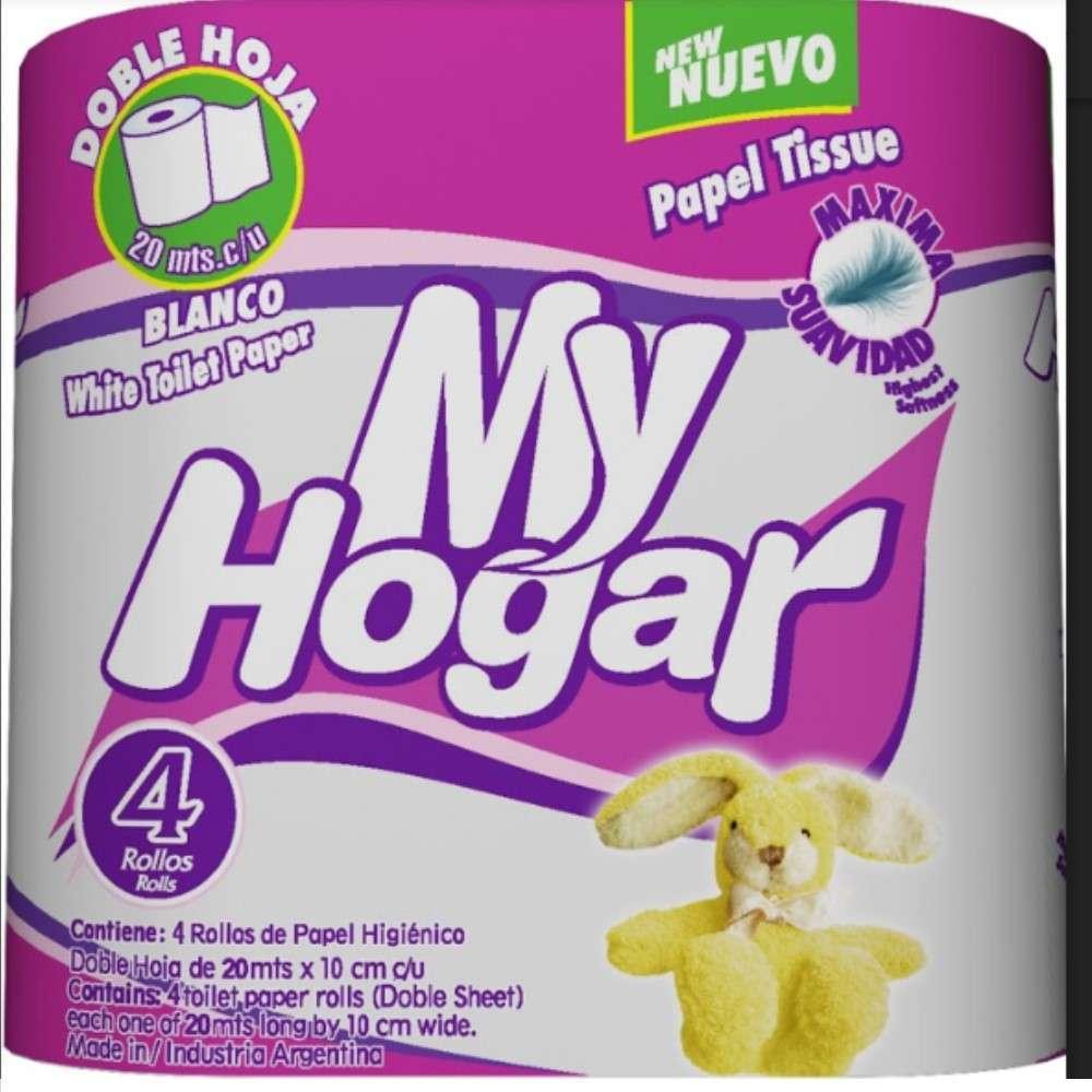Papel Higiénico My Hogar Dh 4Rolx20M