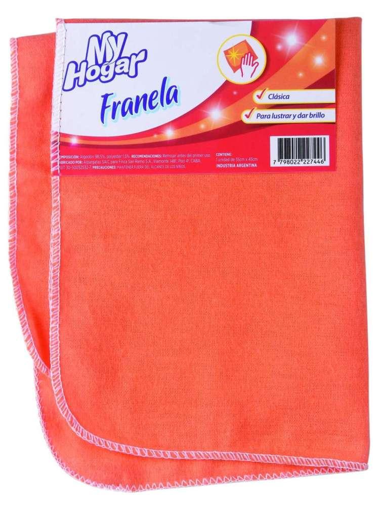 Franela My Hogar 35X45