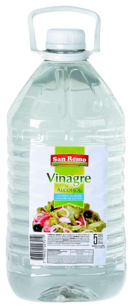 Vinagre San Remo Alcohol 5L