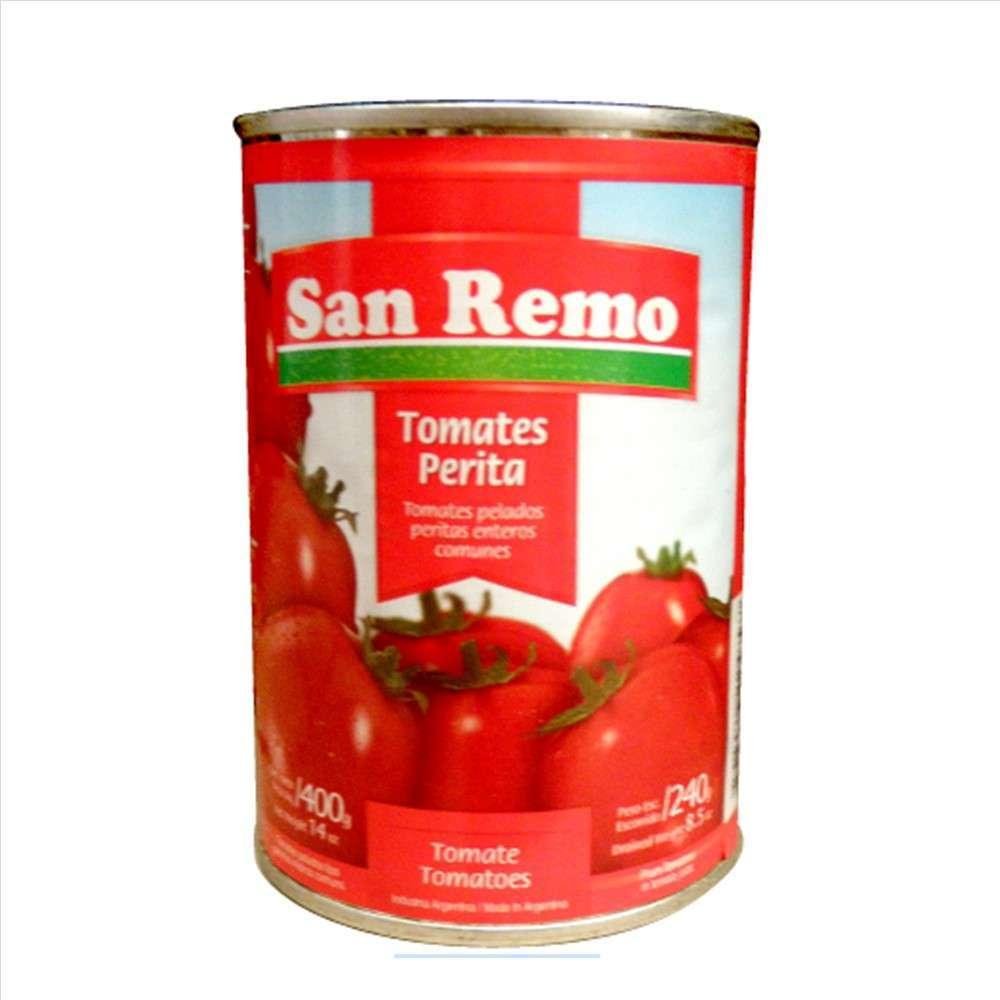 Tomate San Remo Perita 400G