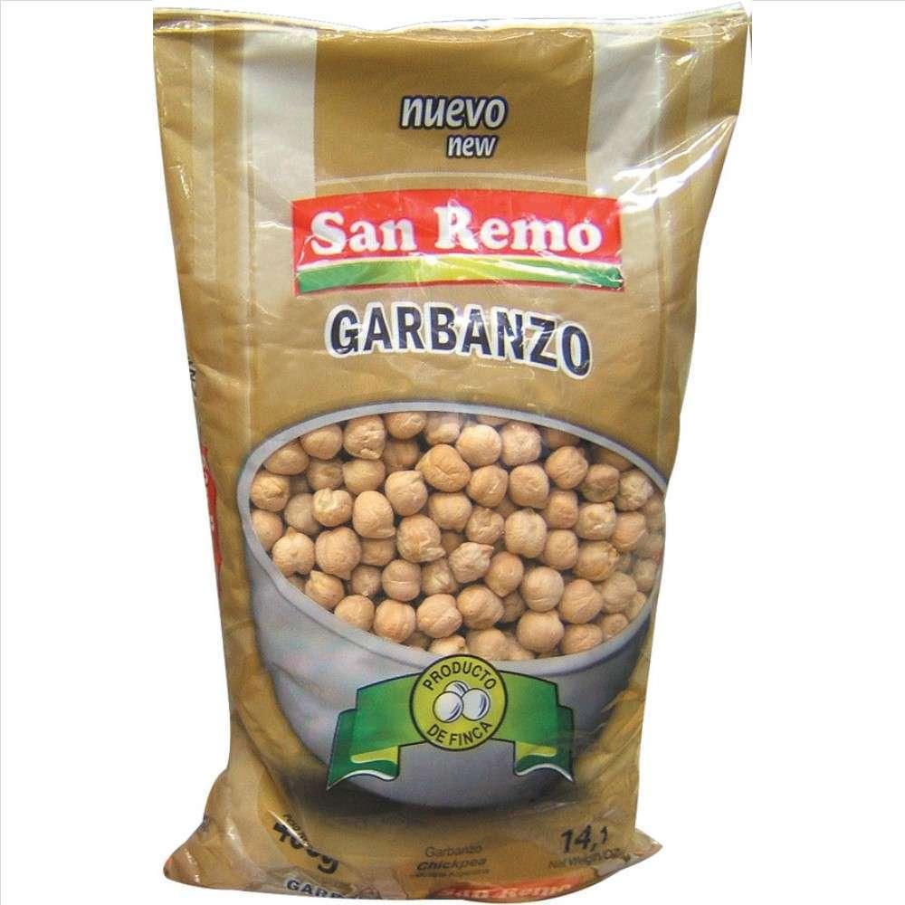 Garbanzos San Remo 400G