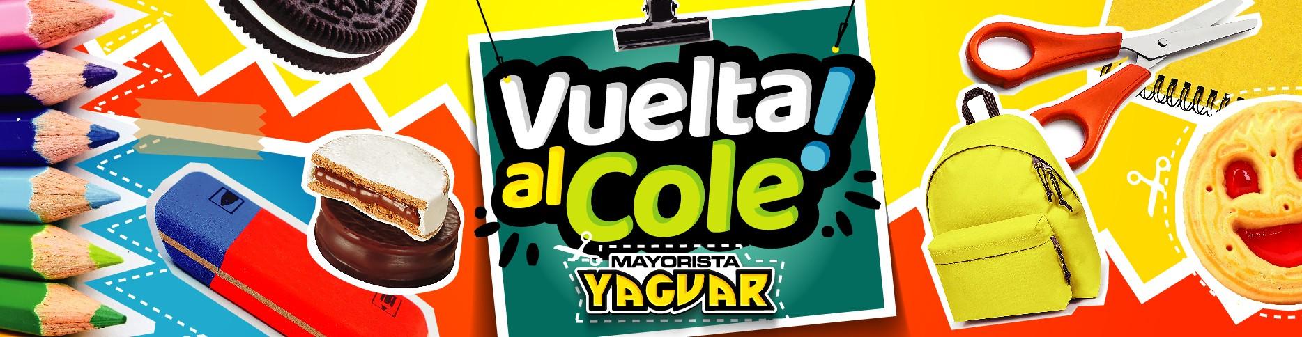 Vuelta al cole Yaguar.