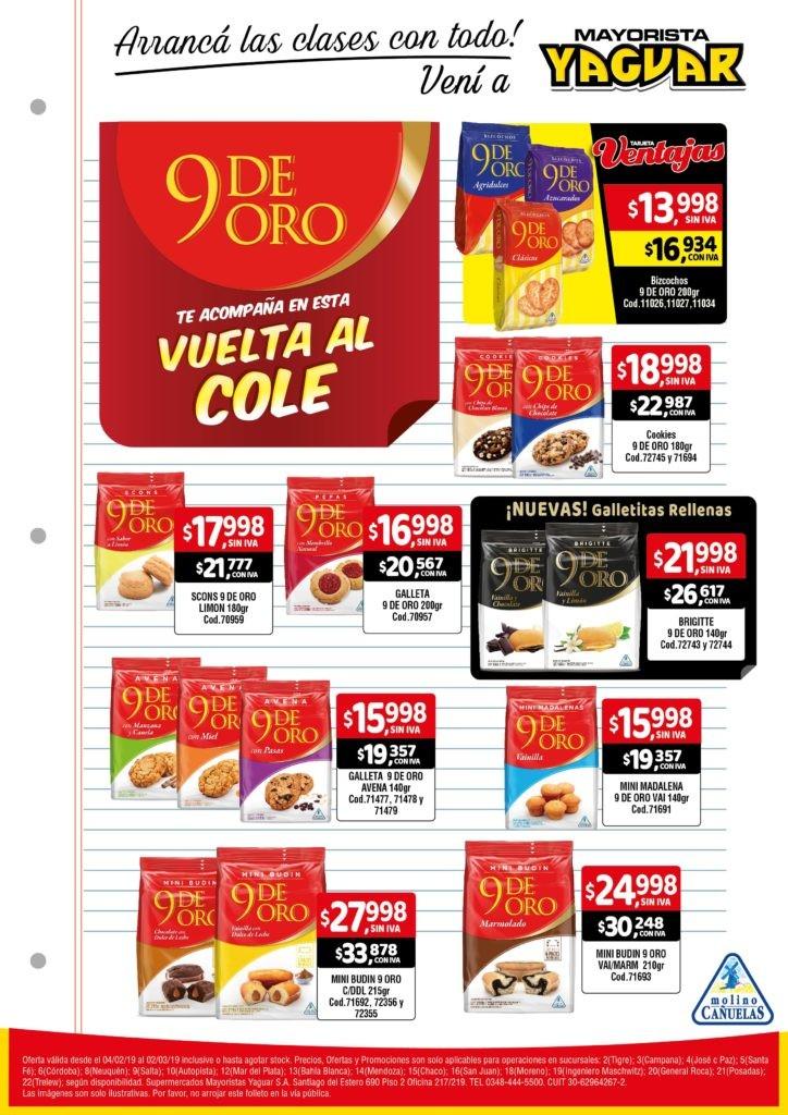 Yaguar 9 de Oro Vuelta al cole feb (1)