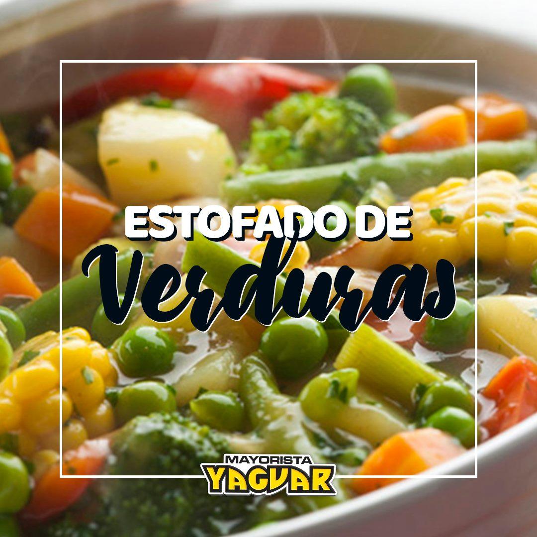 Receta Estofado de verduras 👌